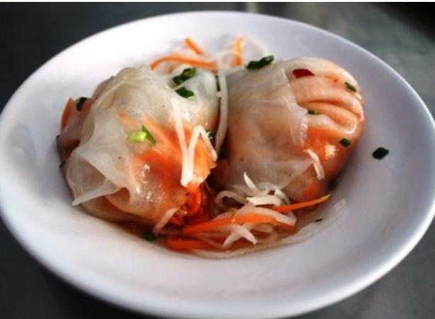 Bánh củ cải là món ăn bình dị, đơn giản mà thân quen ở Bạc Liêu.