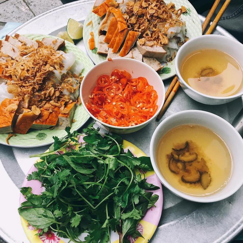 Bánh cuốn chả - Nguyễn Chí Thanh