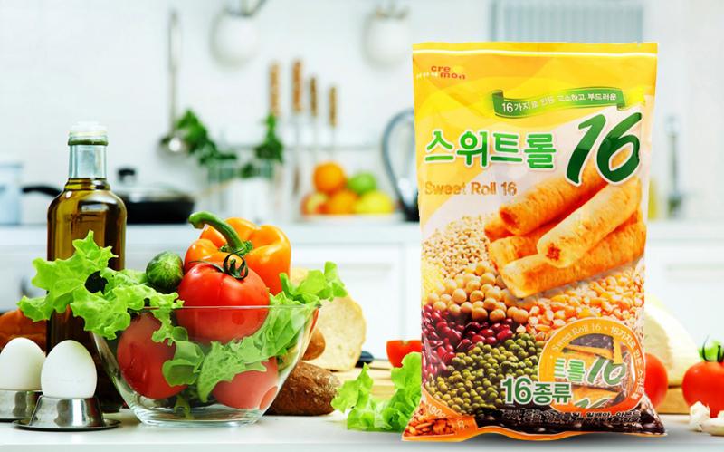 Bánh cuộn ngũ cốc cao cấp Hàn Quốc Sweet Roll