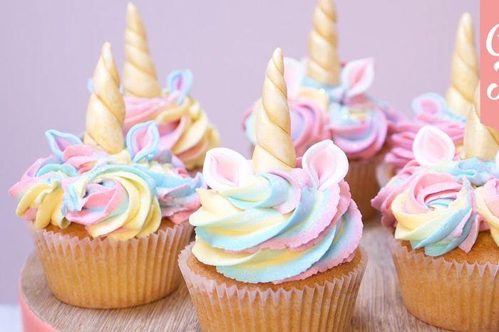 Bánh Cupcake với màu sắc bắt mắt và ngon miệng