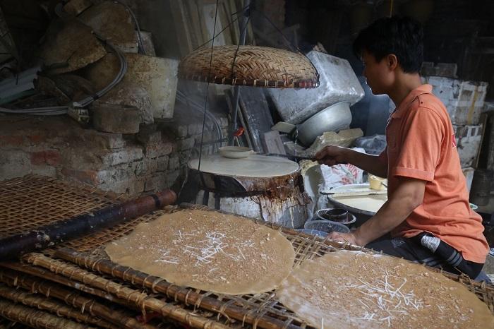 Quy trình làm bánh đa Kế