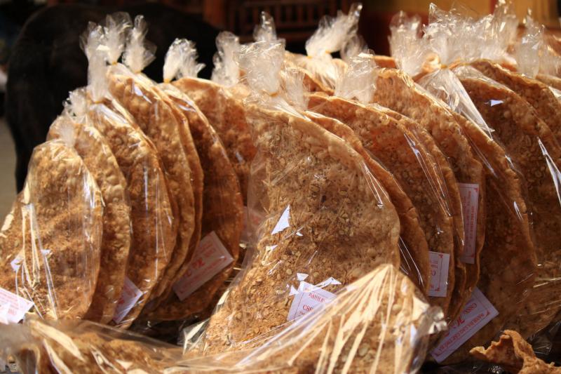 Bánh đa vừng (ảnh minh họa)