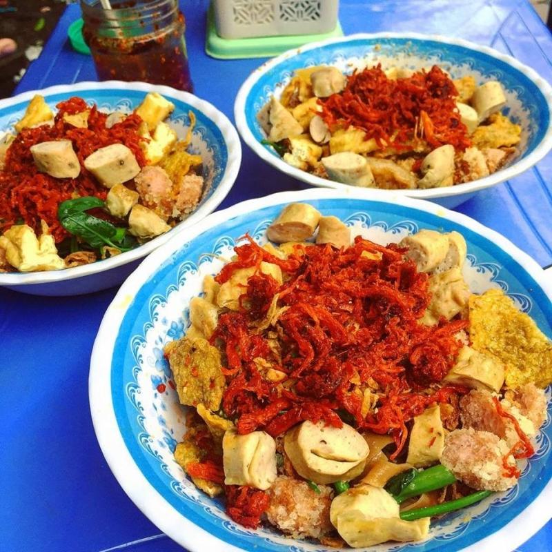 Bánh đa trộn Nguyễn Khánh Toàn