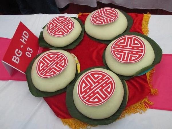 Bánh dày Gia Lộc thơm ngon đặc trưng