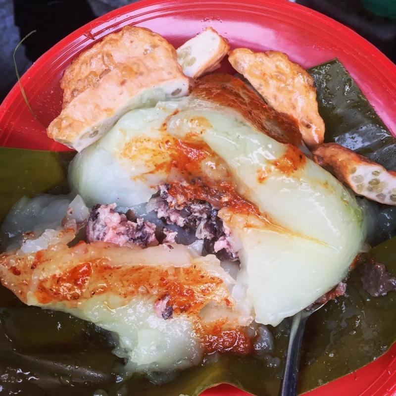 Bánh giò Đào Duy Từ là món ăn gia truyền từ mấy chục năm nay