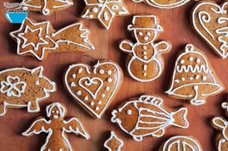 Bánh gừng cho ngày Giáng sinh
