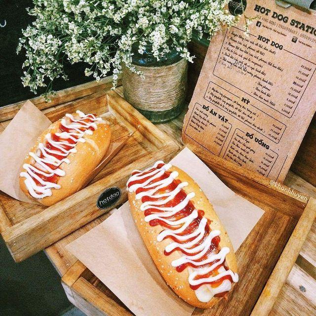 Bánh hot dog trái bơ (Hàng Than)