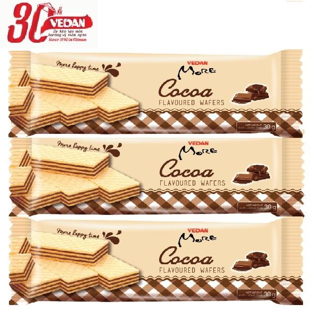 Bánh Kem Xốp Hương Cacao Vedan More