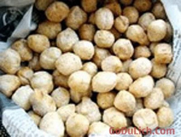 Bánh Khẩu thụy đặc sản Bắc Kạn