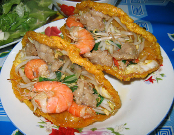 Bánh khoái thơm ngon Quảng Bình
