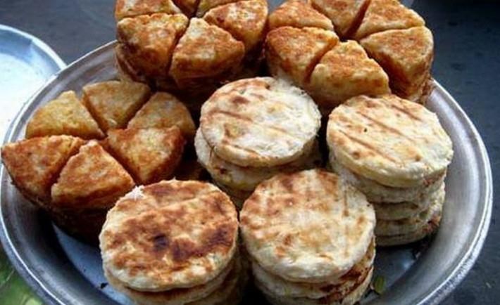 Bánh khoai mì nướng thơm ngon, bắt mắt