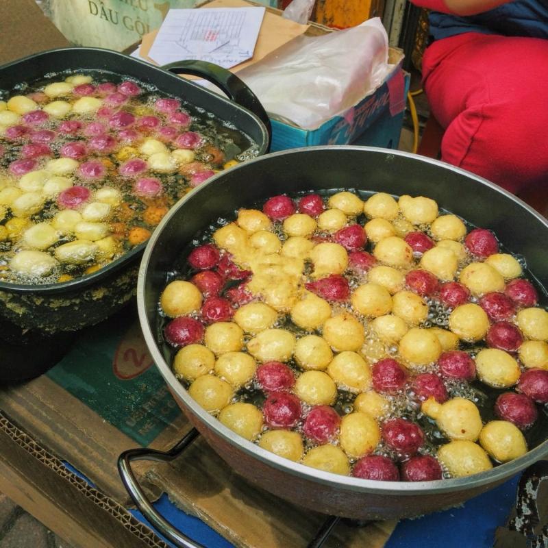 Bánh khoai viên chiên Quỳnh Mai