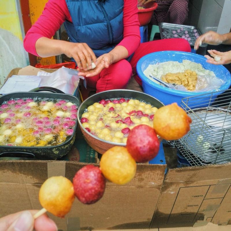Quynh Mai fried potato cake