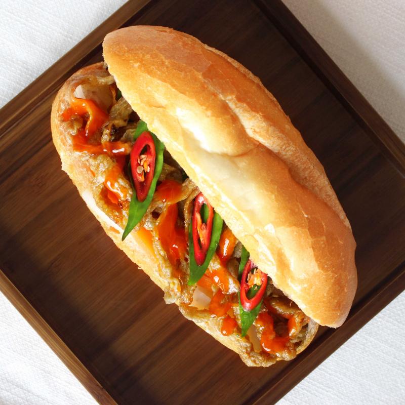 Bánh Mì Chả Cá Ngon Phết