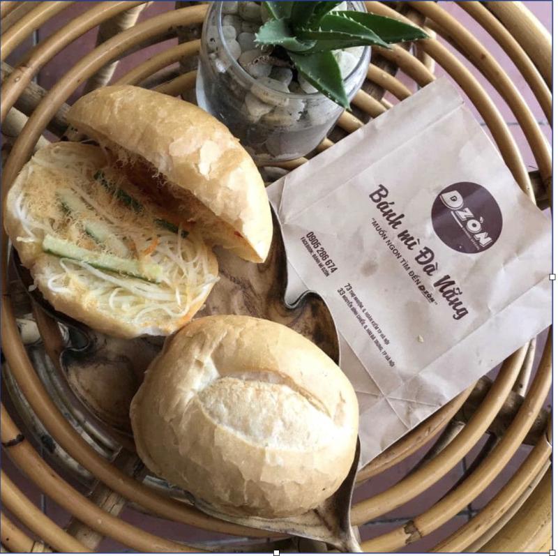 Bánh mì Dzòn – Đặc sản Đà Nẵng có rất nhiều hương vị