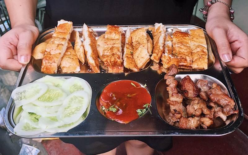 Bánh mỳ nướng Lạng Sơn
