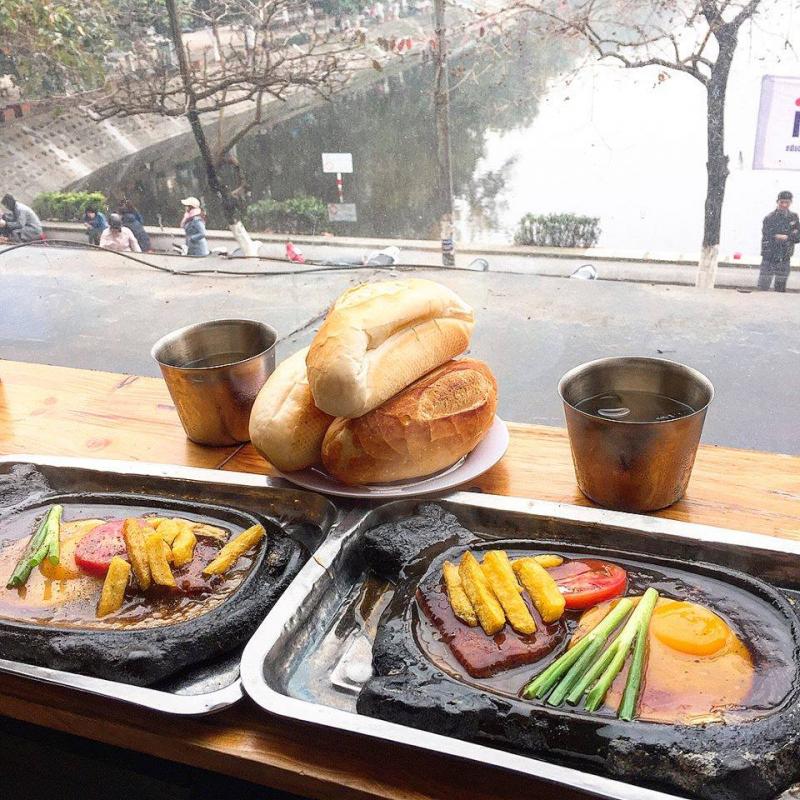 Bánh mì chảo Ô Long