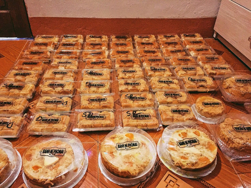 Bánh mì phô mai Đà Nẵng