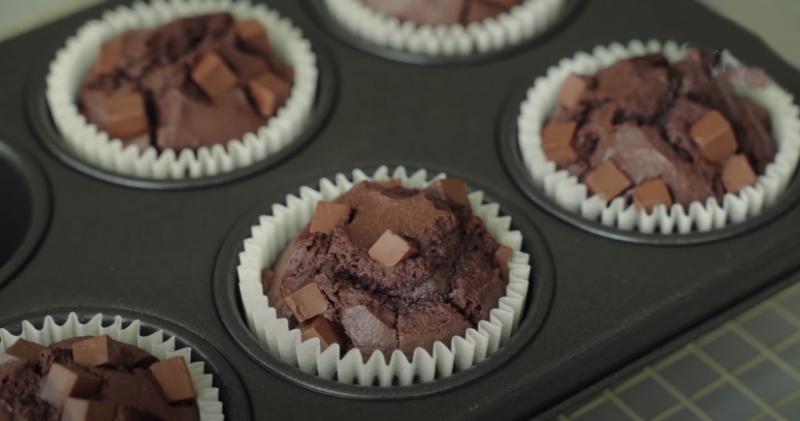 Bánh Muffin socola