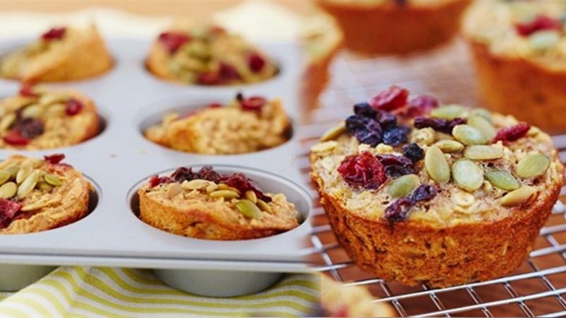Bánh muffin yến mạch