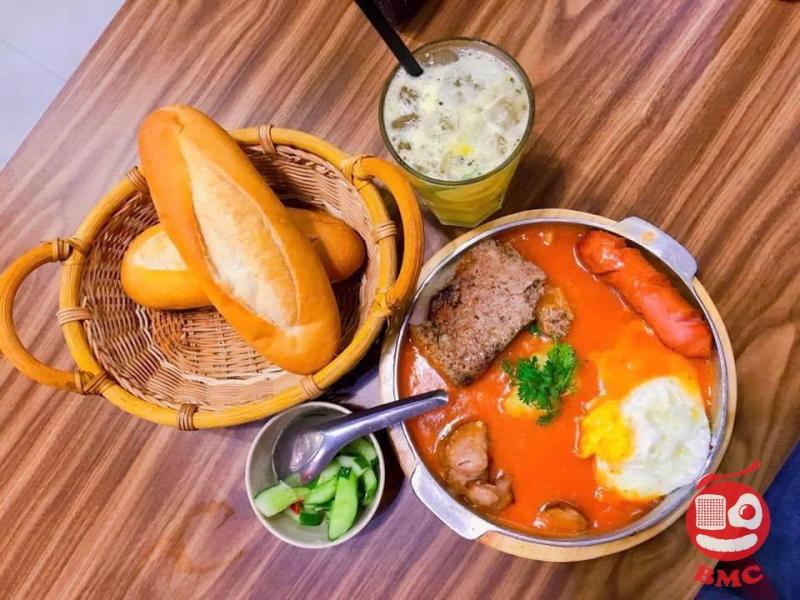 Bánh Mỳ Chảo - Cột Điện Quán