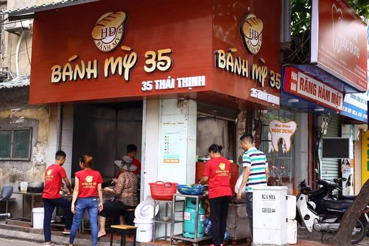 Bánh mỳ sốt vang 35 Thái Thịnh