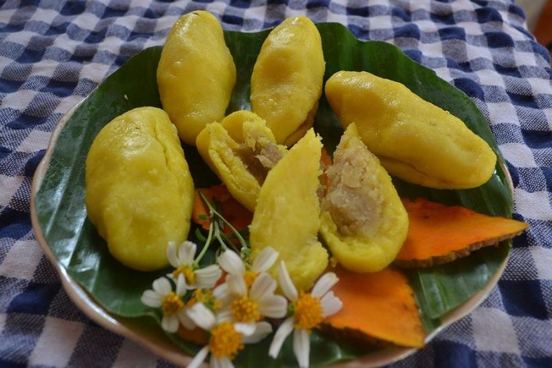 Bánh nghệ là một cái tên khá đặc biệt, một loại bánh ngon dân dã của người dân Thái Bình