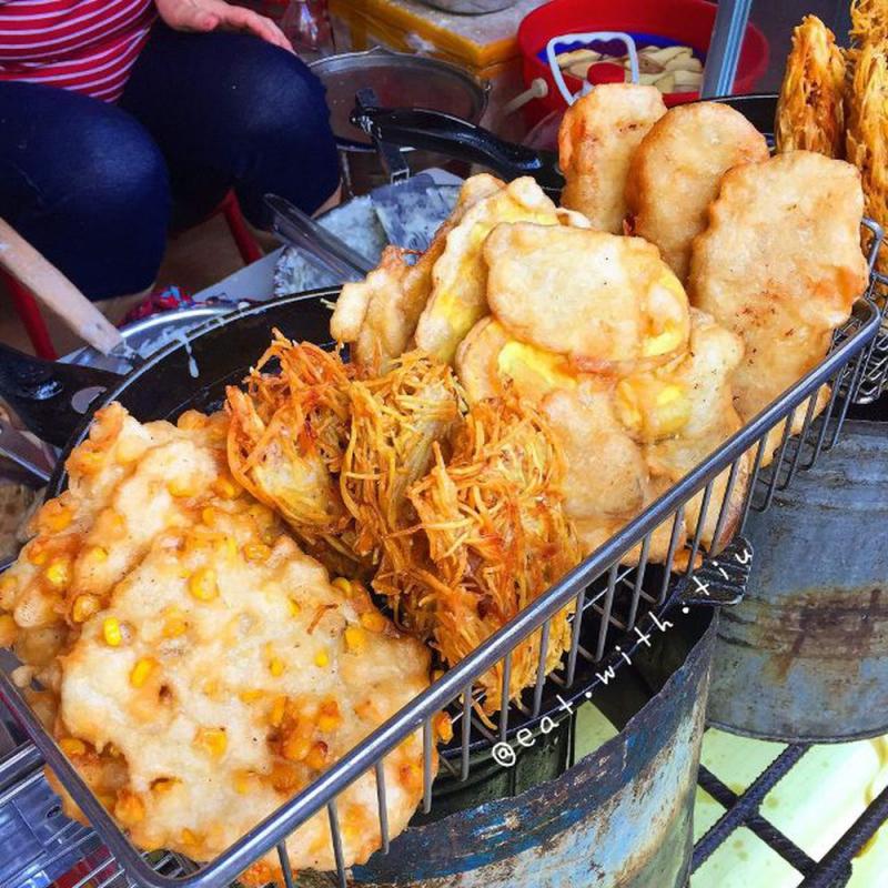 Bánh Ngô, Khoai