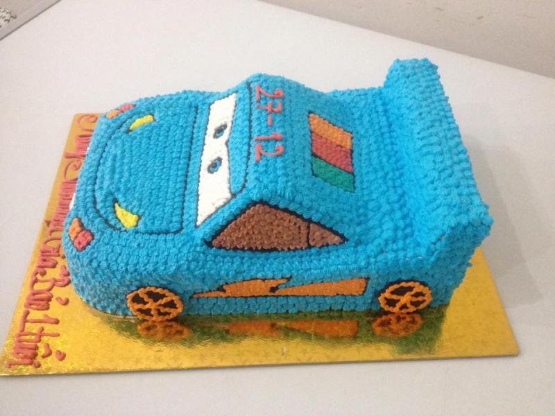 Chiếc bánh sinh nhật của Bánh ngọt Pháp Nhất Trung rất cầu kì