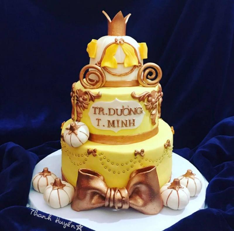 Bánh sinh nhật vô cùng đáng yêu