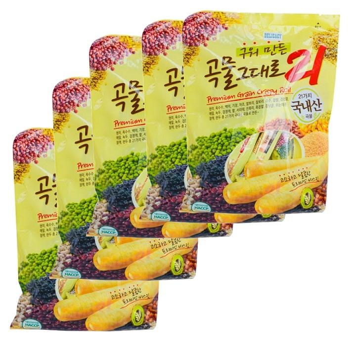 Bánh ngũ cốc 21 vị Gaemi Food Hàn Quốc