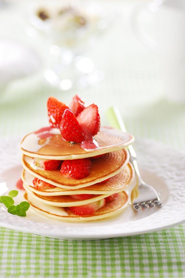 Bánh pancake xốp mềm kiểu Mỹ