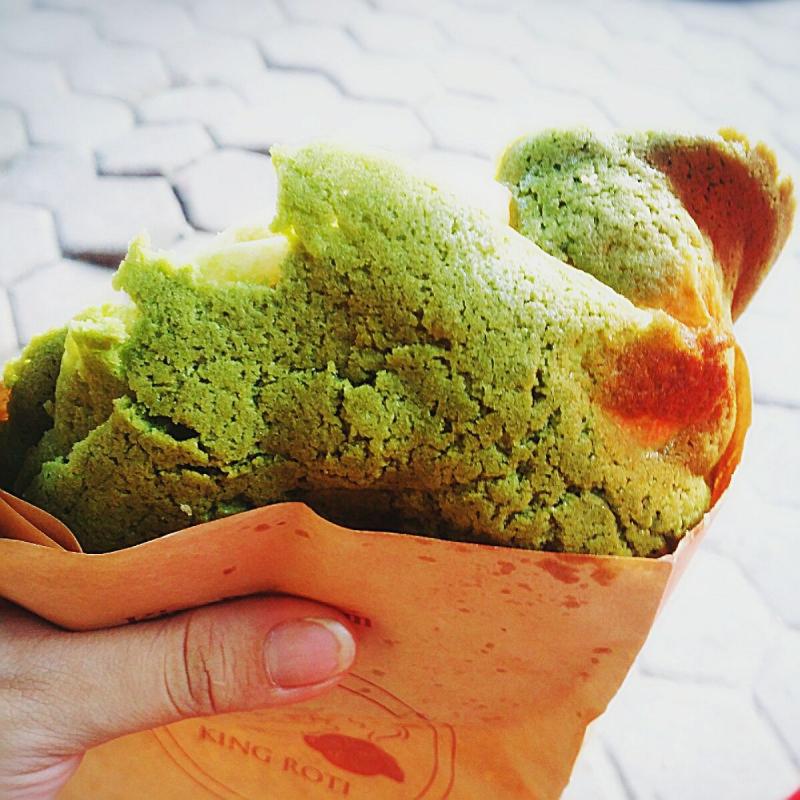 Bánh Paparoti trà xanh hấp dẫn giới trẻ