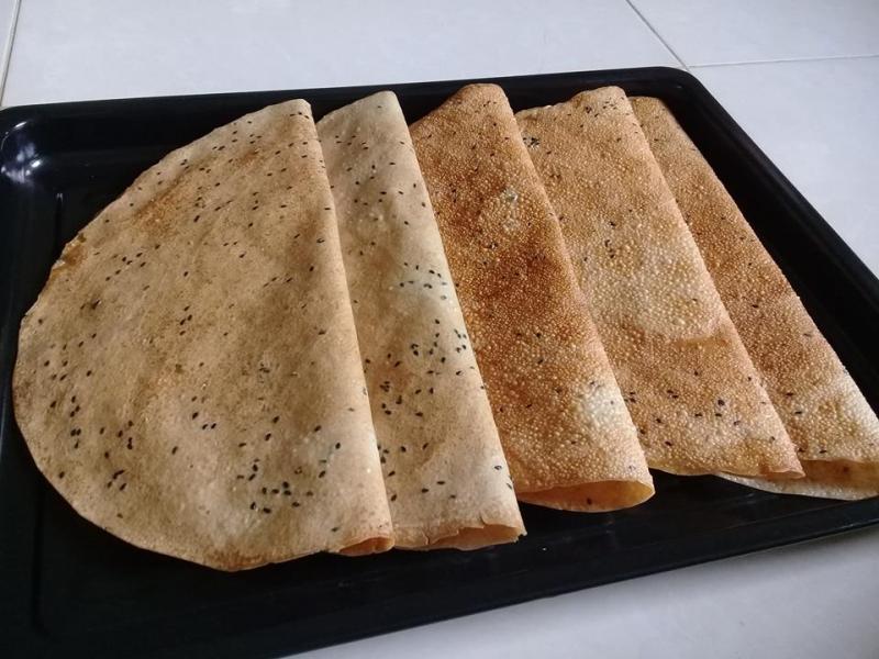 Bánh phồng sữa dừa - Bến Tre