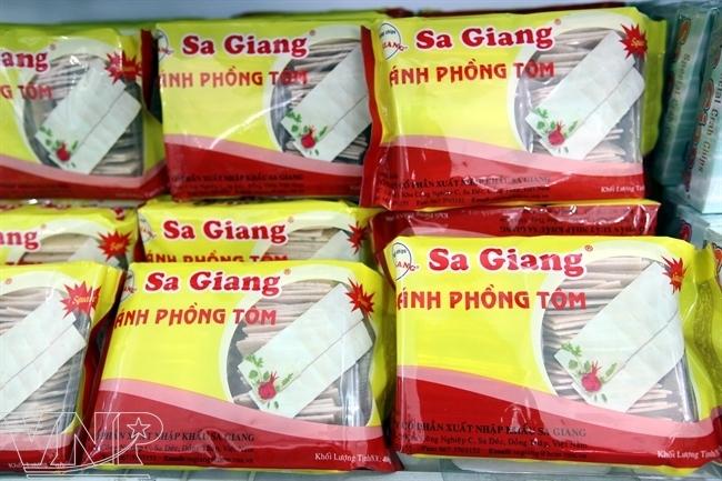 Bánh phồng Sa Giang nổi tiếng gần xa