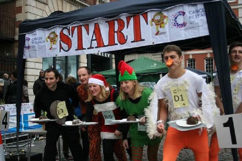 Cuộc đua bánh pudding Giáng Sinh