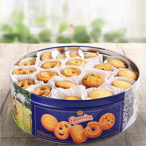 Bánh quy bơ Danisa giòn tan, thơm ngon, cung cấp nhiều năng lượng, protein và một số vitamin, là sự lựa chọn hoàn hảo cho ngày mới đầy năng lượng