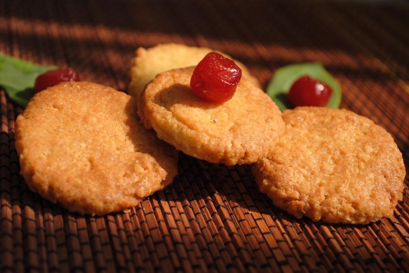 Bánh quy dâu tây