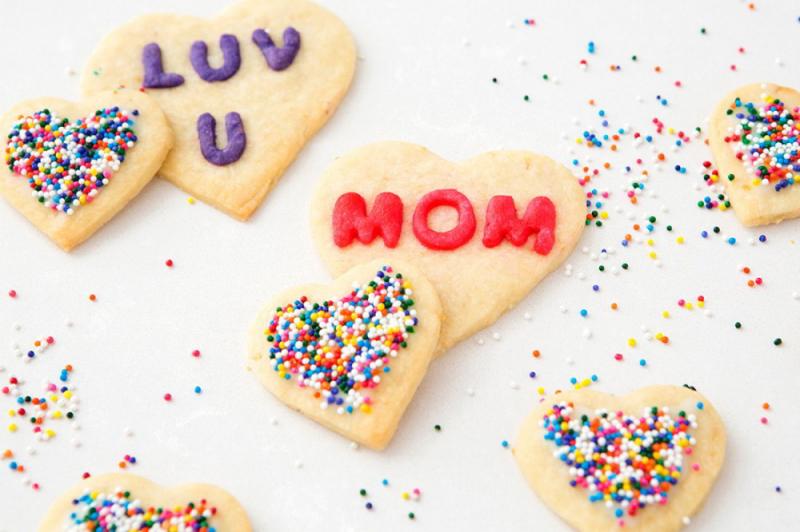 Bánh quy trái tim siêu dễ thương