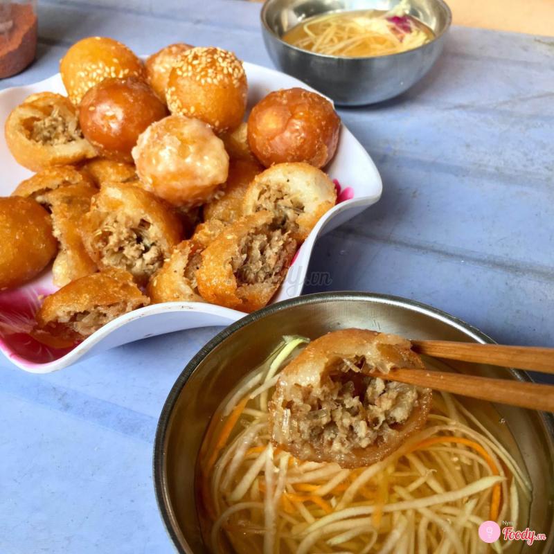 Bánh Rán Mặn - Ngõ Chợ Đồng Xuân
