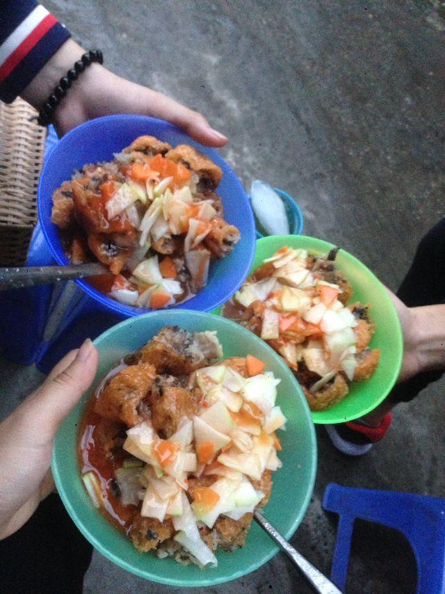 Bánh rán mặn Võng Thị