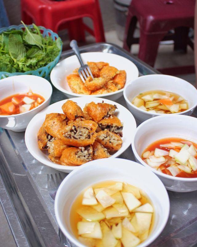 Bánh rán Ngõ Kim Ngưu