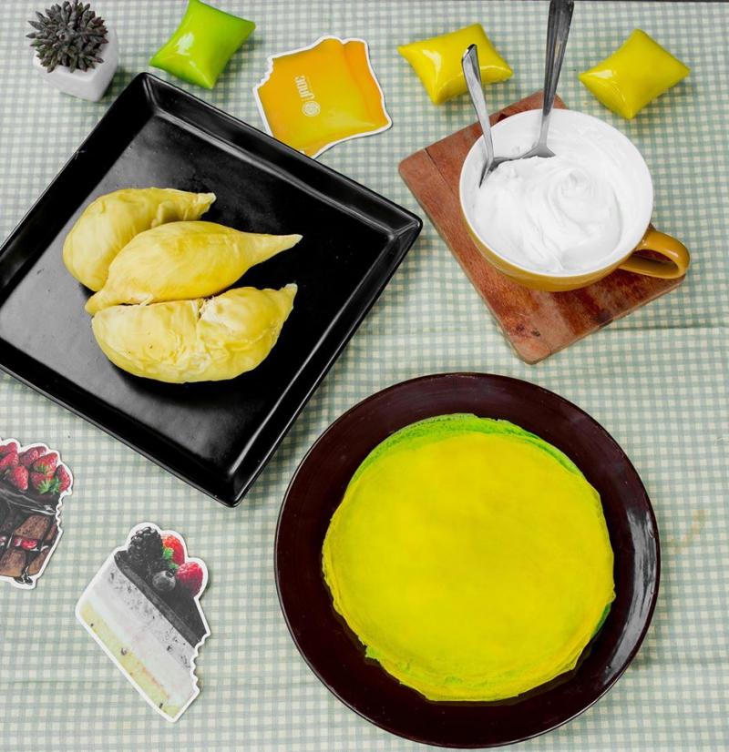 Top 10 món ăn vặt ngon xuất sắc trên đường 3/2 (Bánh sầu riêng kem lạnh - The Jade)