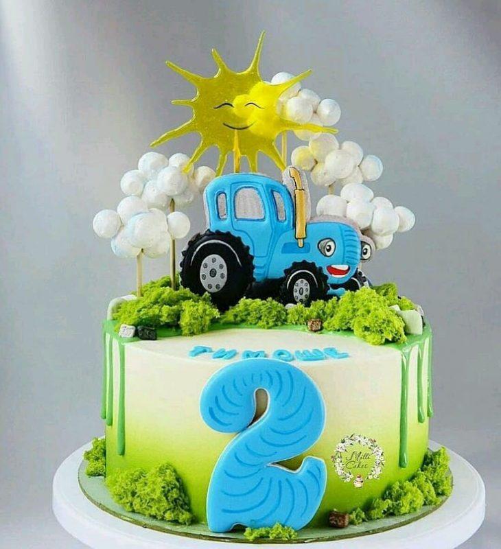 Bánh sinh nhật cho bé trai 2 tuổi