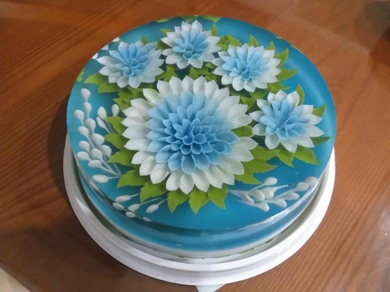 Bánh sinh nhật rau câu 3D Đà Nẵng