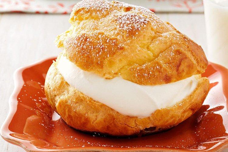 Bánh su kem có hương vị hấp dẫn