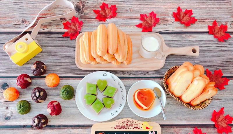 Thế giới bánh ngọt tại Bánh su que