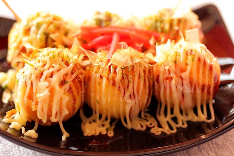 Bánh Takoyaki Nhật Bản