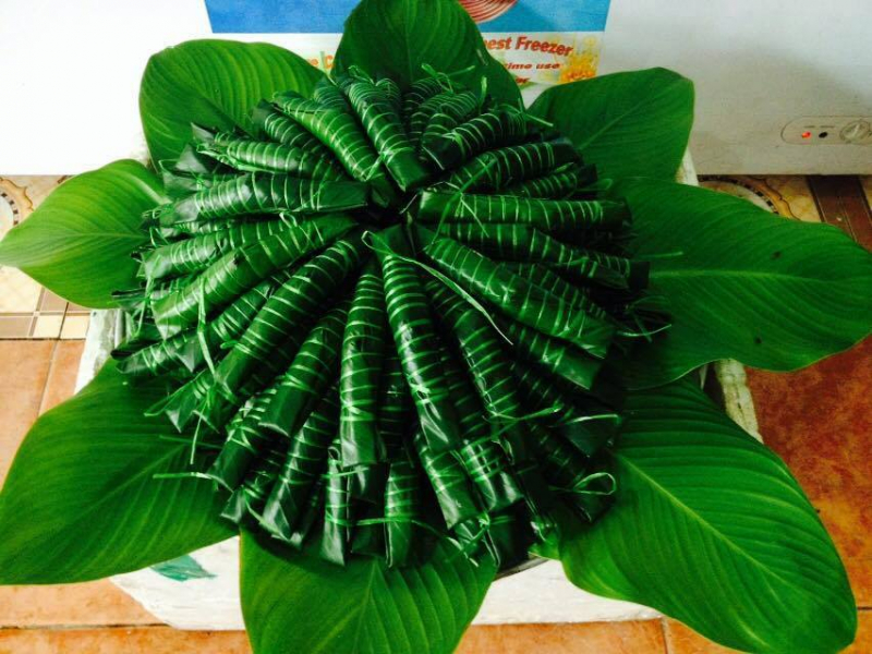 Bánh tẻ ngon phố Bạch Mai là bánh gia truyền lâu năm Họ Đặng ở Văn Giang