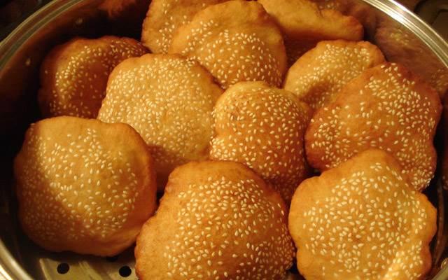 Bánh tiêu đậu đỏ